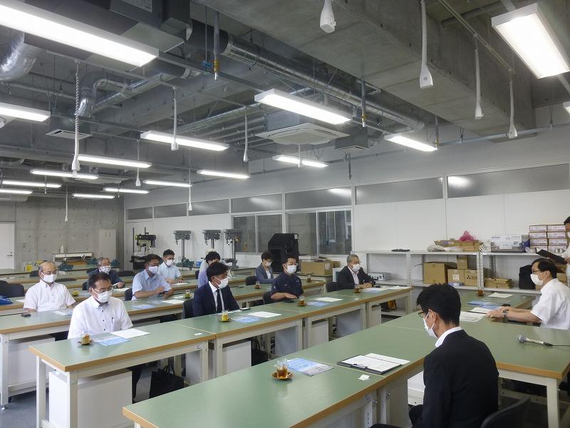 甲府工業専攻科創造工学科見学会を開催しました